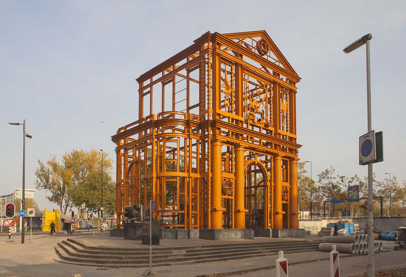 De Nieuwe Delftse Poort in Rotterdam